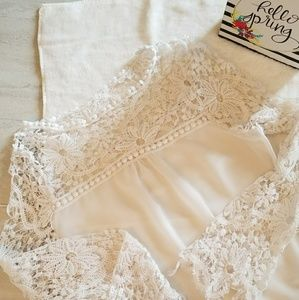 Lace blouse Boho  Chic
